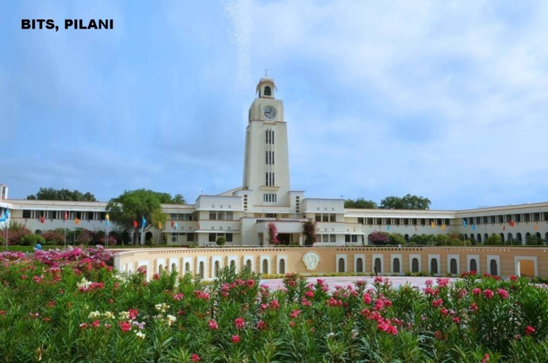 BITS, Pilani On Campus Programmes...